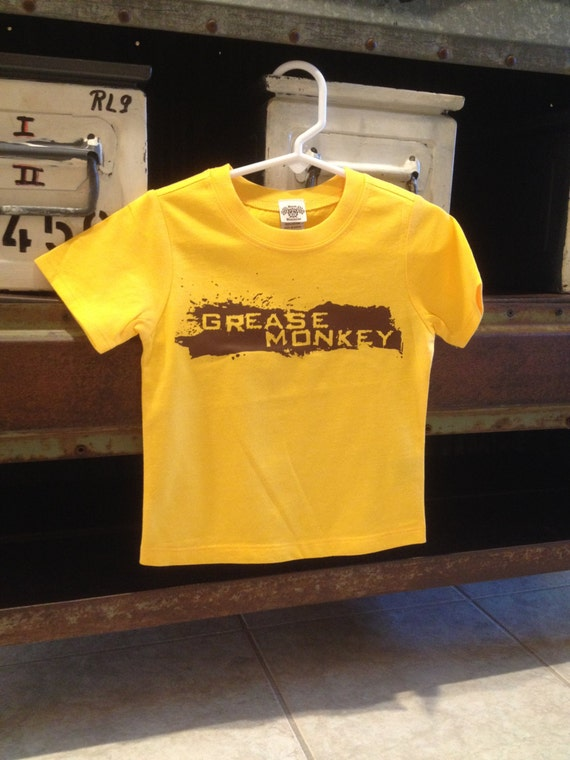 SALE- Grease Monkey - Baby / Kids T-Shirt