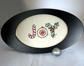 Hand-Embroidered Joy