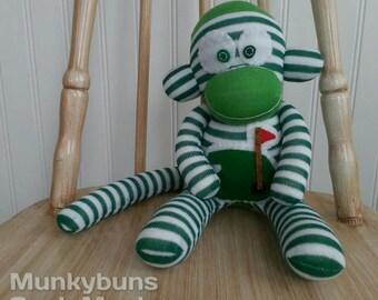 Golf Sock Monkey