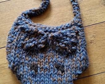 Greyhound Head Tote Bag knitting pattern