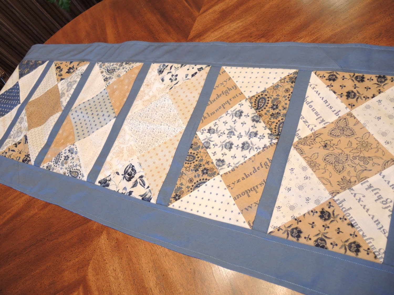 Modern Patchwork Table Runner Table Linens Kitchen amp Dining : ilfullxfull712699422itax from www.etsy.com size 1500 x 1125 jpeg 444kB