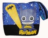 Lil' Adam West Diaper Bag + Changing Pad Option