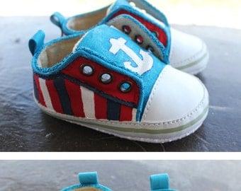 Handpainted Custom Baby/Childrens Shoes