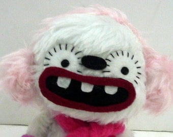 Culm the winter monster, plush monster doll