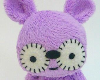 Tingo the mini monster , plush monster doll