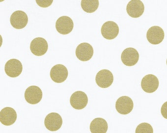 Michael Miller MC3744-GLIT-D Quarter Dots Pearlized Fabric by the Yard