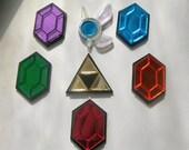 The Legend of Zelda Rupee, Navi or Triforce Pin