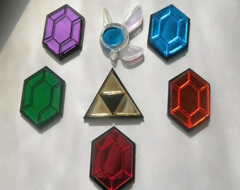 The Legend of Zelda Rupee, Navi or Triforce Pin