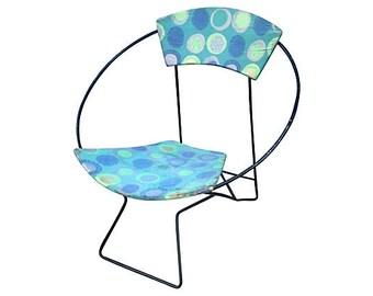 MCM Iron Hoop Chair