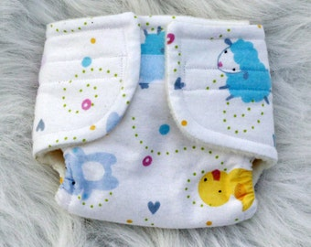 Bitty Baby Doll Diaper Baby Animals - Size Large