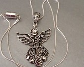 Angel Necklace, magnetic necklace, Angels, Angel collector, Religious necklace