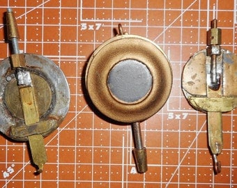 Vintage Steampunk  Clock Pendulums set of 3