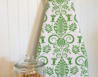 NEW!  Designer Ironing Board Cover - Michael Miller  Doozie Whimsy in Grass Green