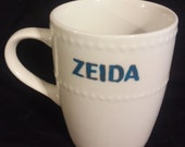 Zeida Mug - Yiddish for Grandfather