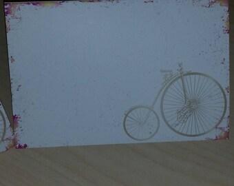 Vintage Bicycle Note Cards
