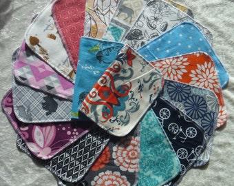30 Adult Style Mixed Print, Reusable Cloth Napkins, Family Napkins, Eco-Friendly
