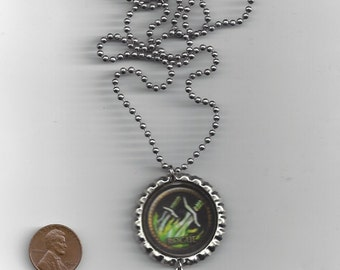 FREE SHIPPING - World of Warcraft Inspired Rogue Necklace / Pendant / Charm / Cell Phone Strap / Jewelry