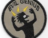 Evil Genius Geek Merit Badge Patch