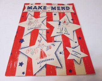 Make and Mend fo rVictory Book No. S-10