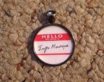 Princess Bride Inigo Montoya Pendant Necklace-FREE SHIPPING-