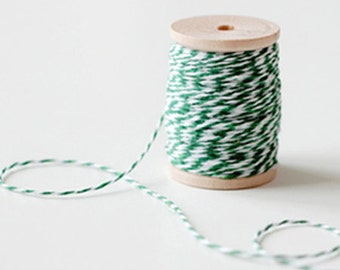 Baker Twine Strings - Green (25 yards)