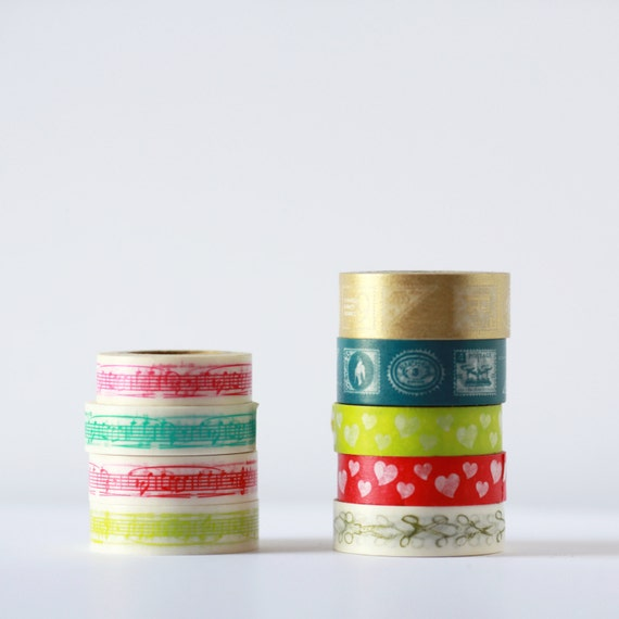 SALE   -  Pick your roll at 50 percent off-  Traditional Japanese Washi tape