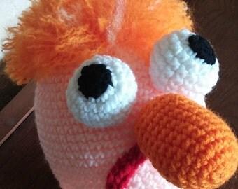 Crochet Beaker Hat