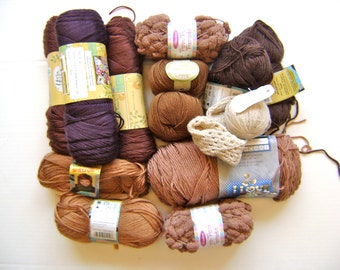 Bag of Yarn - Perfect for Crochet or Knitting Crafts