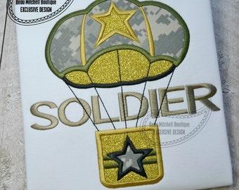 soldier applique