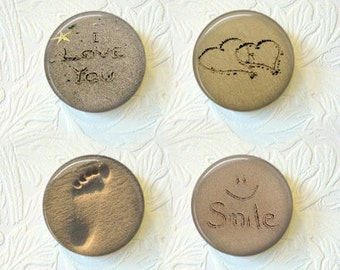 Magnet Set Sand Writing Beach Sand Magnets Buy 3 Get 1 Free  439M