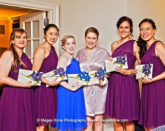 Bridal shower gift | bridesmaid clutch