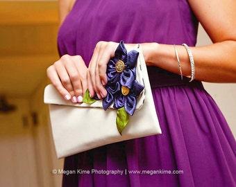 Unique bridesmaid gift | Personalized wedding clutch