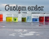Custom Order for Andria: Set of  2 custom decorative throw pillows cases