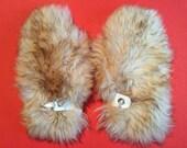 Huge Vintage Sheepskin Mittens – Ladies