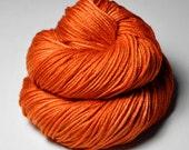 Red-hot metal - Silk/Merino DK Yarn superwash
