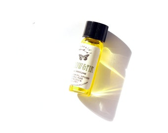 Meadow & Fir Botanical Perfume - A Verdant Amber Floral For The Nature Lover - 1ml