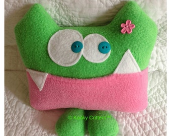 Tooth Fairy Pillow-Miss Abigail Applesauce by Kooky Critters™