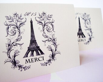 Merci Thank You Cards - Set of 8