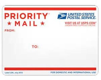 Add on Priority Mail Shipping