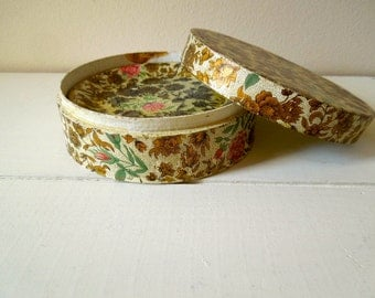 Vintage Papier Maché Coaster Set with Box, Set of Six, Made in Japan, ON SALE