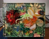 """REDUCED!! 3D Painting/ fused  """"Tropical Fun Day""""."""