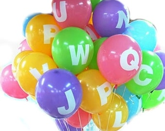 ABC Balloons-set of 12