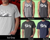 PONG Caricature T-Shirts (Groomsmen Gift or Bachelor Party Favour)