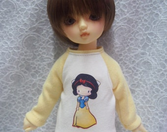 Super Dollfie Yo SD Littlefee Yellow Sweater - Snow White