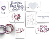 sweet love notes | short love notes | printable love notes | heart drawing