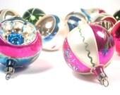 Glass Christmas Ornaments - A Mixed Baker's Dozen