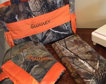 Hunting Camo Diaper bag Packages - MADE TO ORDER