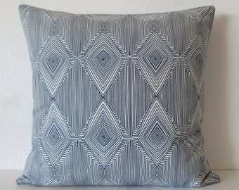 Nate Berkus Linea Paramount diamond geometric decorative designer pillow cover