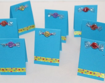 Candy Place Cards Set of 8
