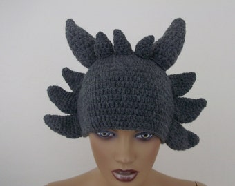 Crochet Scratchy Hat-crochet  Scratchy wig-Halloween Costume Ideas-night costumes